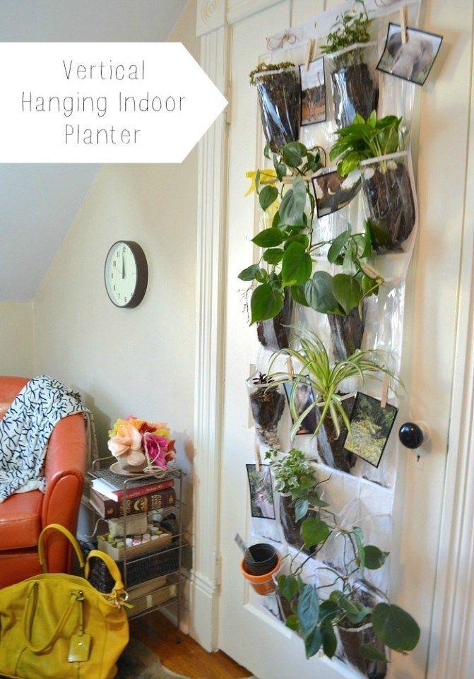 vertical indoor hanging planter indoor herb garden diy on indoor herb garden diy wall vertical planter id=82143