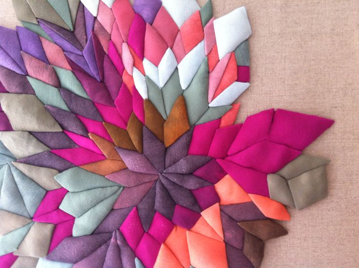 Acumulación geométrica. 2013  Serena Garcia Dalla Venezia TEXTIL