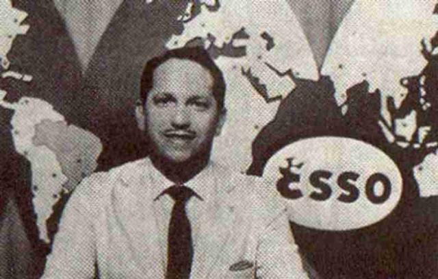 Reporter Esso - Heron Domingues  1924-1974) foi um jornalista e radialista brasileiro. Foi o primeiro apresentador de televisão, quando ingressou na TV Tupi do Rio de Janeiro, em 1961.