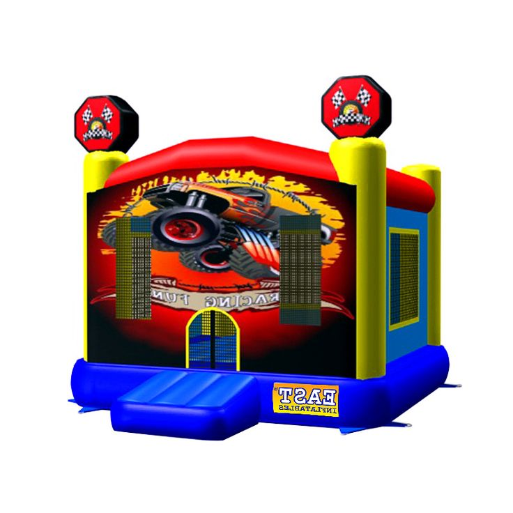 How To Buy Low-price And Best Bouncy House Racing Fun? Our Provide Commercial Bounce House, Discount Water Slide, Cheap Bouncy Games In Sale Inflatables Online