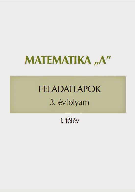 Matematika feladatlapok 3. o