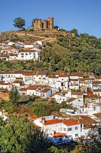 Cortegana. Huelva. Spain.  Go to www.YourTravelVideos.com or just click on photo for home videos and much more on sites like this.