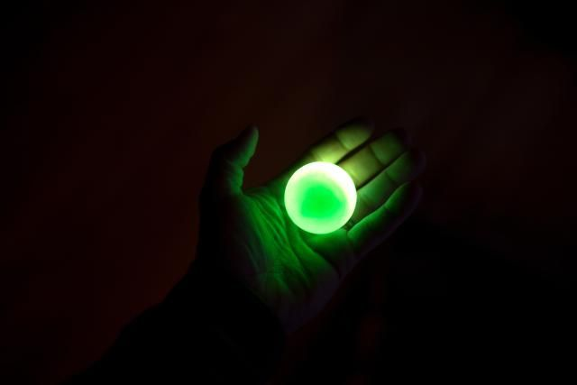 Learn the science of how glow in the dark stuff works, including glowing paints and pigments. Find out why the most common glowing color is green.
