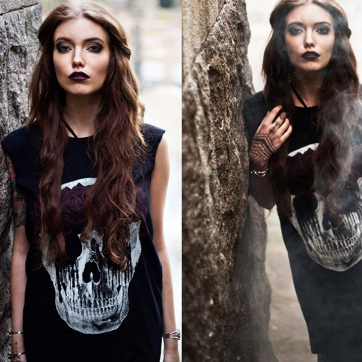 Lilith Skull tunic