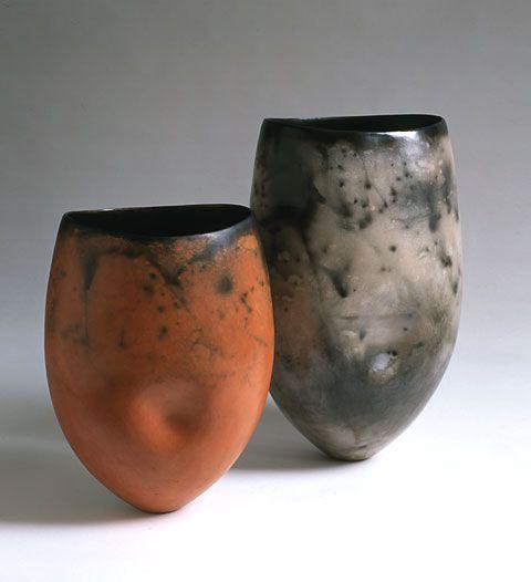 Gabriele Koch Dimpled pots, H. 26, 33cm