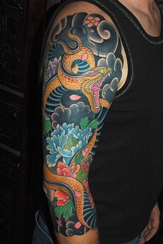Tattoo Sleeve Fur Madchen Und Jungs Tattoos Tatouage Tatouage