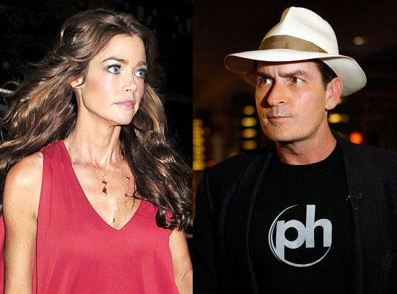 Denise Richards Defends Herself After Charlie Sheen Twitter Rant