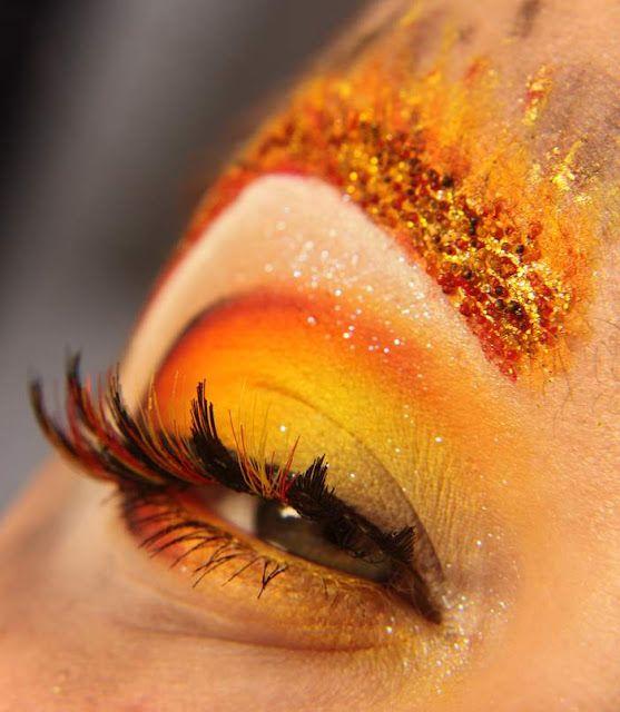 Makeup Ideas fire makeup : Fire Eye Makeup On fireu0026#39; - eye makeup