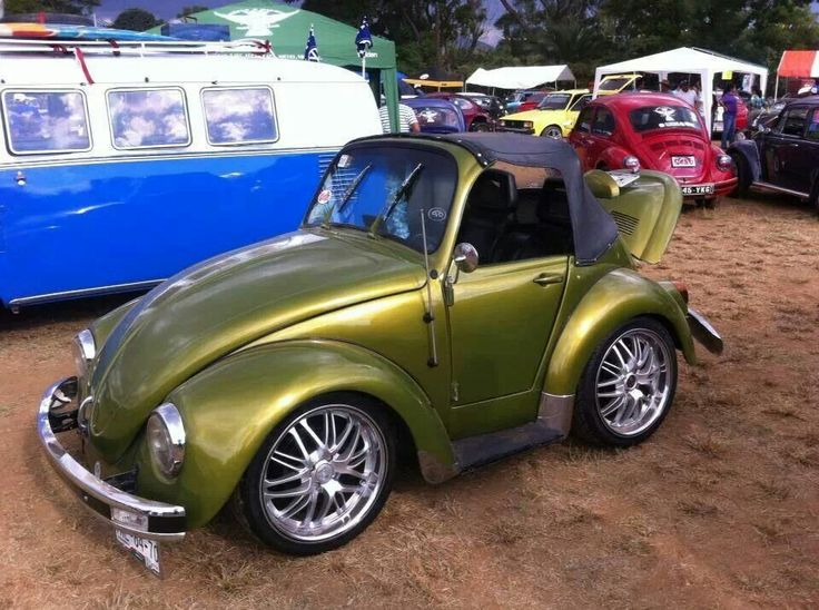 Mini VW shortened custom bug This car is crazy and cool.