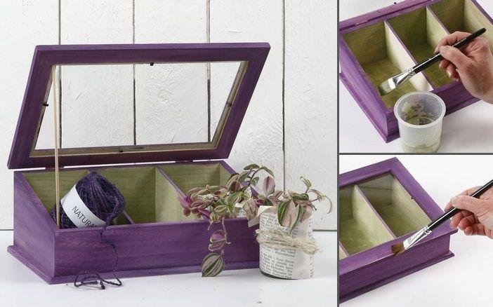 DIY Drivhus Blomster Acryl maling