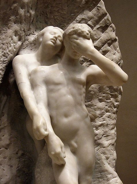'Orpheus and Eurydice' by Rodin in the Metropolitan Museum of Art.