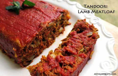 Tandoori Lamb Meatloaf myheartbeets.com