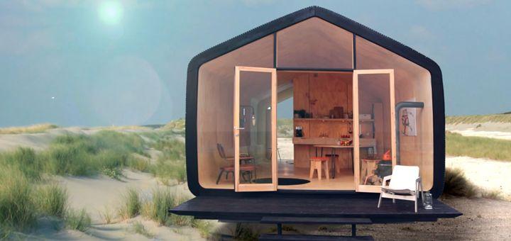 Modulabile, estendibile e completamente personalizzabile a seconda delle esigenze, tre volte più ecologica di una casa tradizionale