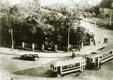 Místo atentátu na Heydricha - location in Prague, where Heydrich was mortally wounded