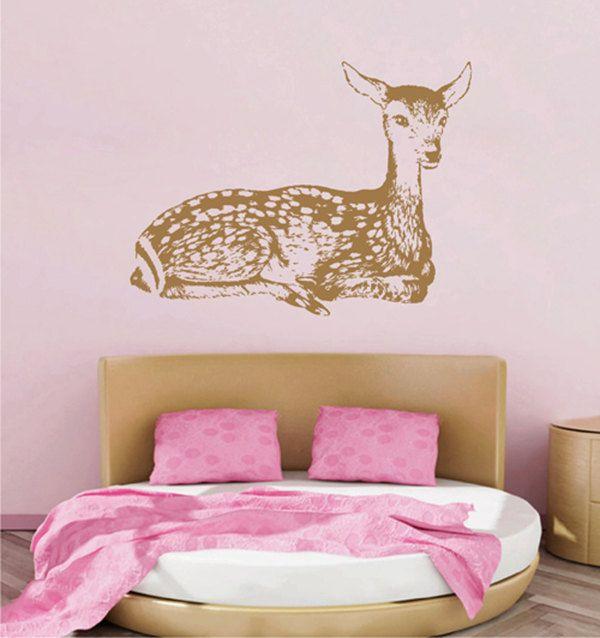kik2437 Wall Decal Sticker cute deer forest animal children's bedroom living room