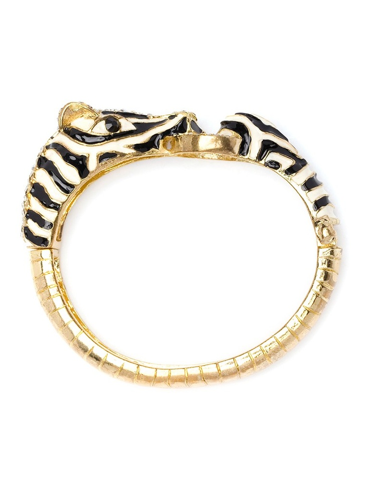 Envisioning the start of a safari arm party...: Crystals, Fashion, Zebras Bangles, Bangles Bracelets, Cuffs, Accessories, Gold Zebras, Arm Parties, Enamels
