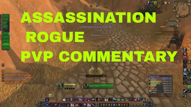 7.2.5 Assassination Rogue PvP Commentary #worldofwarcraft #blizzard #Hearthstone #wow #Warcraft #BlizzardCS #gaming