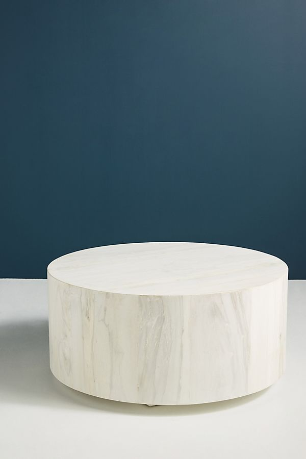 Swirled Drum Coffee Table Drum Coffee Table Decorating Coffee