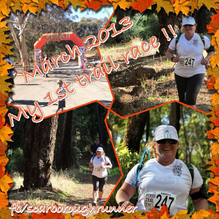 March 2013 My first trail race !!