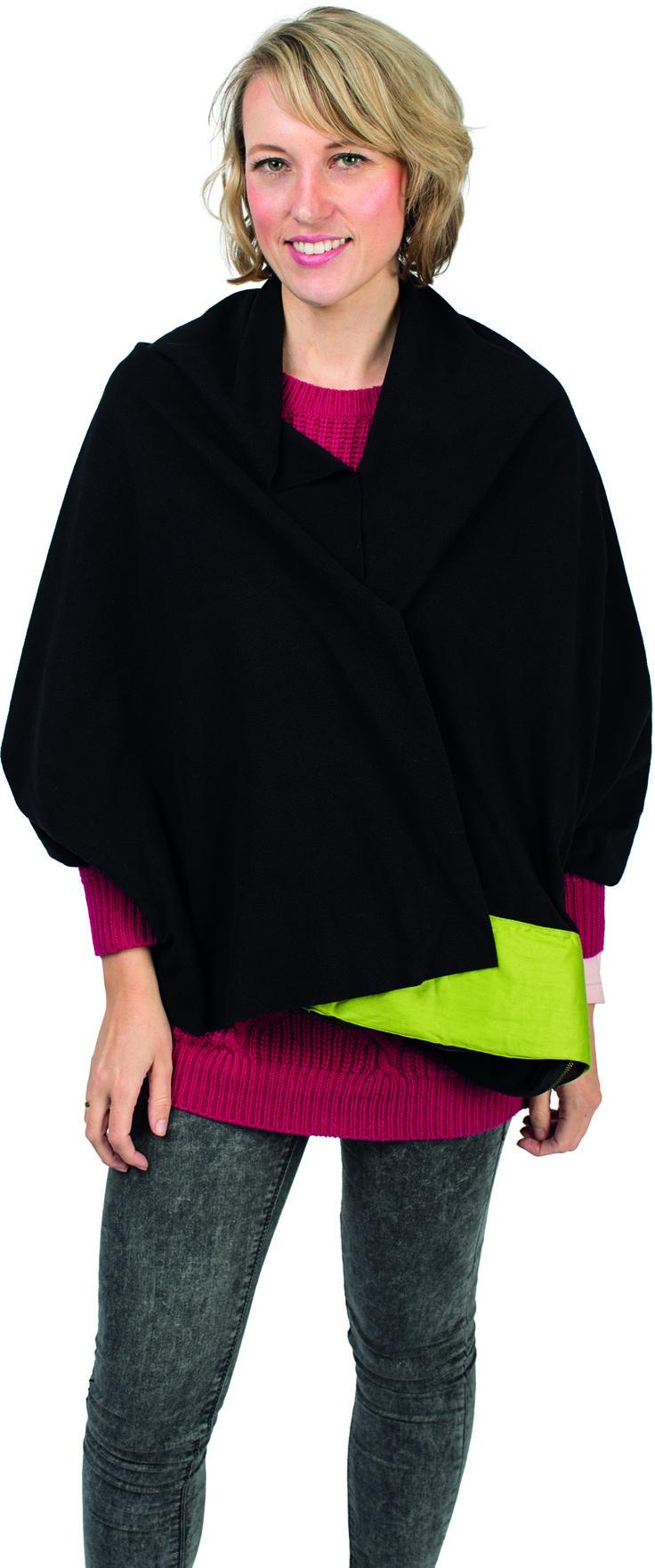 - 3-in-1 nekkussen in 190T polyester - ook perfect te gebruiken als fleece dekentje of sjaal - formaat: 58 x 11 x 5 cm  - Nekkussens bedrukken uitsluitend mogelijk in 1 kleur vanaf 20 stuks