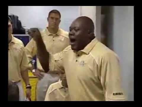 Georgia Tech Pre-Game Football Speech - Amazing Passion!