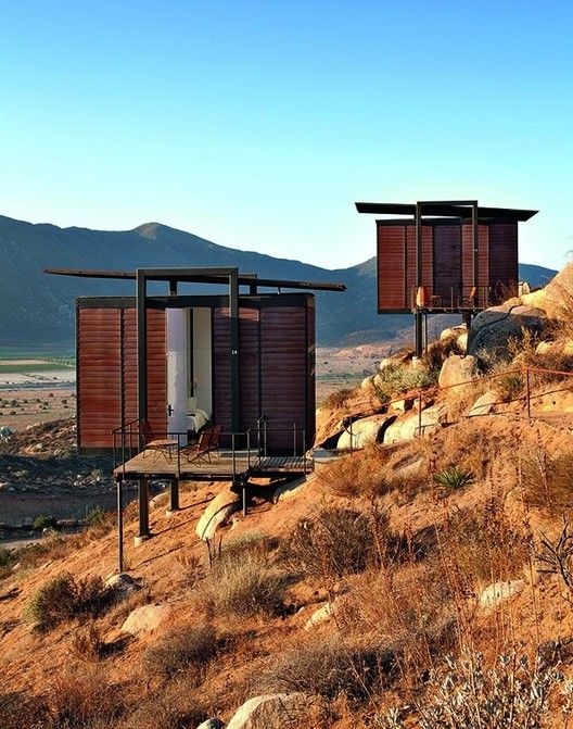 Big Ideas, Small Buildings: Some of Architecture's Best, Tiny Projects,Jorge Gracia, Endémico Resguardo Silvestre, Valle de Guadalupe, Ensenada, Mexico. Image © Undine Pröhl/TASCHEN