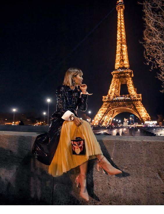 Гламурные картинки в париже