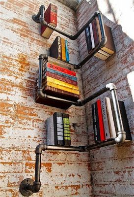 Specially suitable for lofts and bachelor pads! These pipe shelves are just so cool and has the masculine industrial vibe to it. Cost effect...