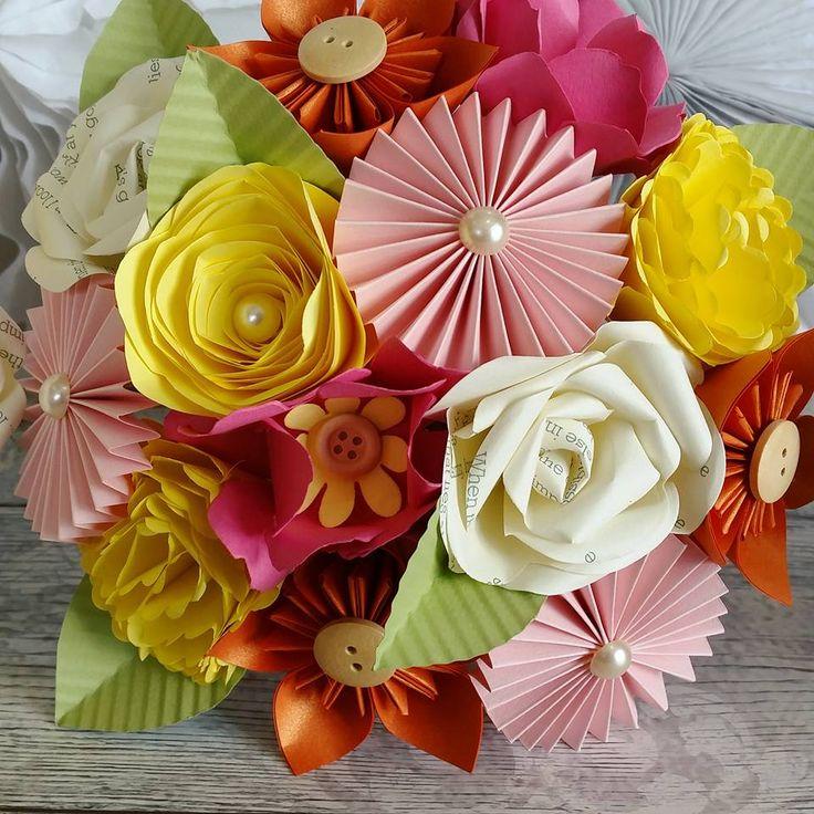 The 15 best Paper Flower Bouquets images on Pinterest | Paper flower ...