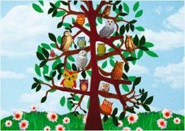 Grootzus `Kaart Uilenboom`