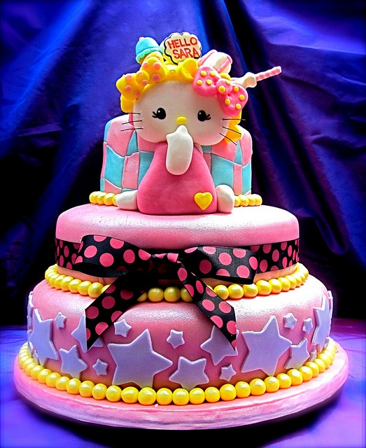 114 best Hello kitty cake images on Pinterest Hello kitty cake