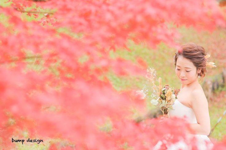 #紅葉まみれ  桜の時期なのに紅葉ですみません笑  せっかく素敵な写真たちがあるのでアップせずにはいられずw笑  とっても素敵なところだったので思い切って紅葉まみれに  #結婚#結婚式#結婚写真#ブライダル#ウェディング#wedding#前撮り#ロケーション前撮り#ドレス#カメラマン#結婚式カメラマン#ブライダルカメラマン#写真家#結婚式準備#花嫁準備#花嫁#プレ花嫁#プロポーズ#名古屋結婚式#ウェディングドレス#バンプデザイン#bumpdesign#instagramwedding#instagramjapan#イトウスグル#IGersJP#写真好きな人と繋がりたい #ファインダー越しの私の世界#日本中のプレ花嫁さんと繋がりたい