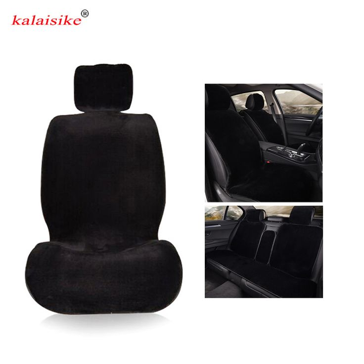 kalaisike plush universal car seat covers for Ford all model focus fiesta s-max mondeo explorer ecosport car styling accessories Click visit for check price #interiorcar
