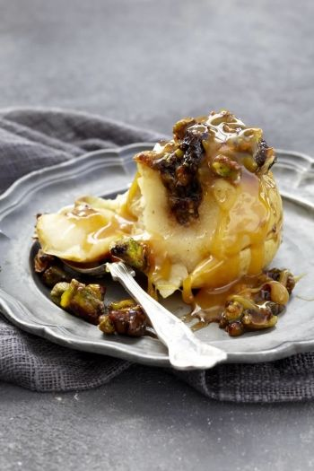 Baked Apples with Salted Caramel Sauce recipe.