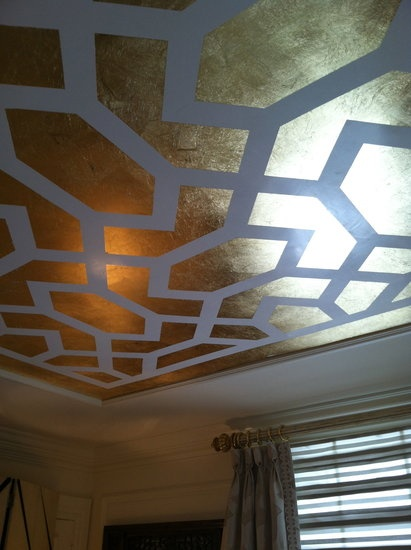 Look out Michelangelo, painted ceilings are coming back–Kips Bay Decorator Show House