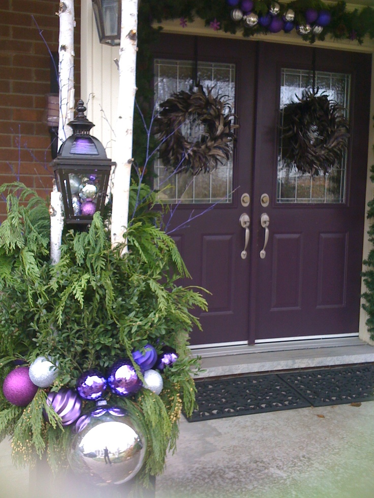 Decorate My House For Christmas 318 best purple and blue christmas images on pinterest | christmas