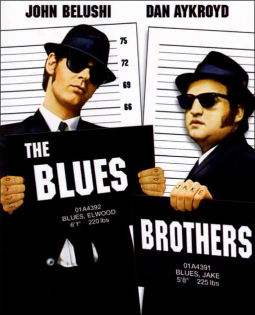 1980: Blu Ray, Bluray, John Belushi, Favorite Movies, Anniversaries, Blue Brother, Brother 1980, Book Jackets, Blues Brothers
