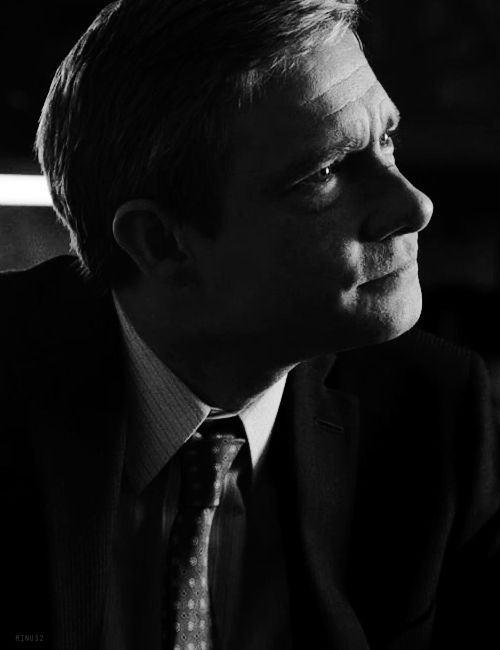 Martin Freeman, thoughtful little hedgehog. <--Yup!