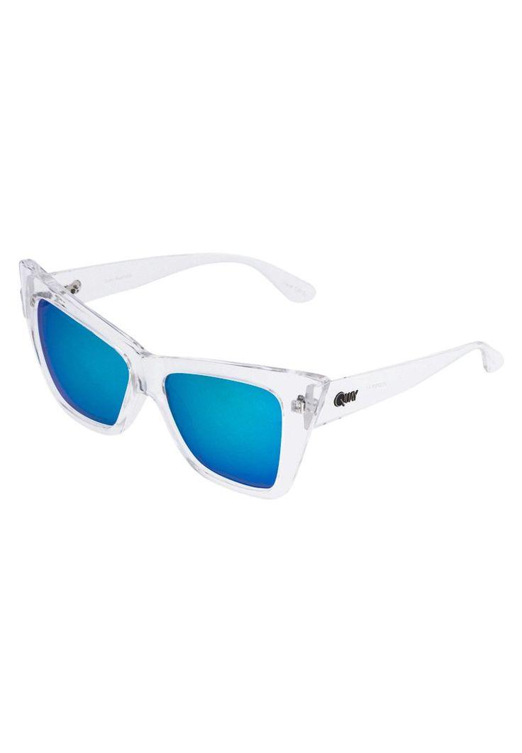 Quay VESPER Okulary przeciwsłoneczne clear/blue mirror