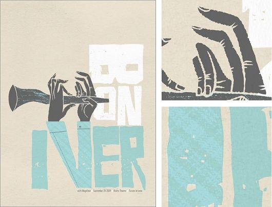 Bon Iver by Spike Press