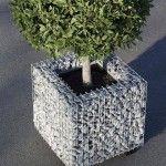 Design: Sobrevasos de cestas de arame | www.stone-ideas.com