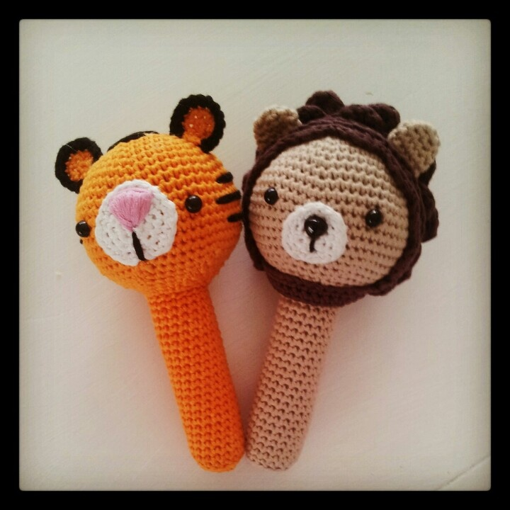 Made some jungle - rattles :-)