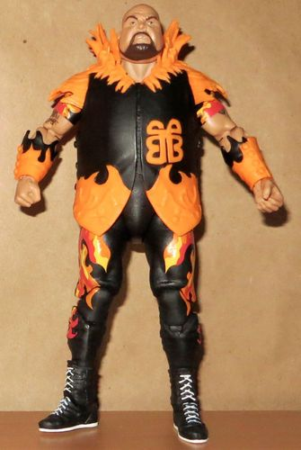 BAM BAM BIGELOW wwe MATTEL elite LEGENDS SERIES 5 wrestling FIGURE