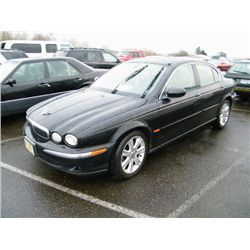 2003 Jaguar X-Type - Speeds Auto Auctions  Category: Four Door Make: Jaguar Model: X-Type Color: Year: 2003 VIN#: SAJEA51C63WD17036 License Plate: OR 855FBQ Title: Will Update Monday Night Mileage: 262000 Condition: Runs With Problems & Non Runners