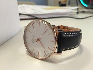 Ed's Corner: The Brathwait Classic Slim Wristwatch Review