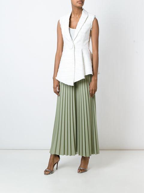 Givenchy плиссированные брюки-палаццо