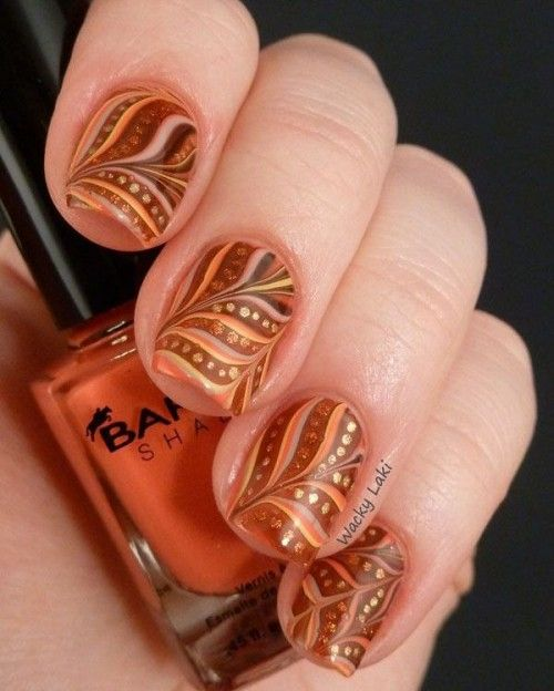 33 Trendy And Eye-Catching Fall Nails Ideas – Crafty Stuff