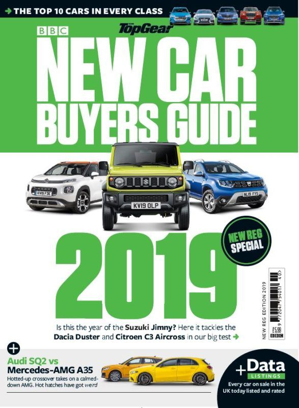 Bbc Top Gear New Car Buyers Guide New Reg Edition 2019 Vol 40