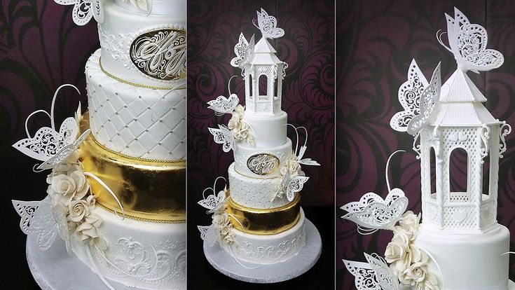 Free Wedding Cake Tutorials