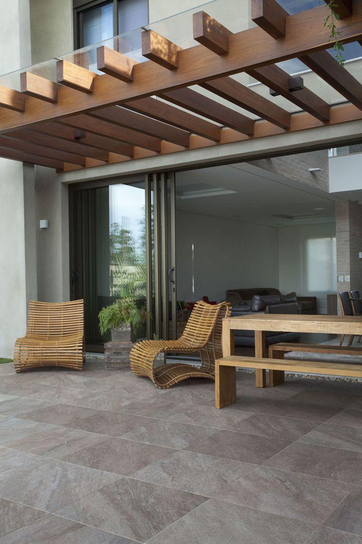 Telhado e piso